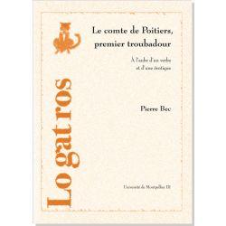 Le comte de Poitiers premier troubadour