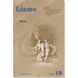Liame n° 19 : Varia
