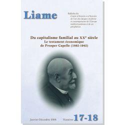 Liame n° 17/18 : Du capitalisme familial au XXe siècle