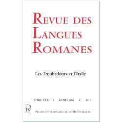 Revue des Langues Romanes Tome 120 n° 1