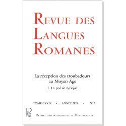 Revue des Langues Romanes Tome 124 n° 2