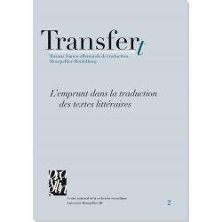 L'emprunt dans la traduction des textes littéraires