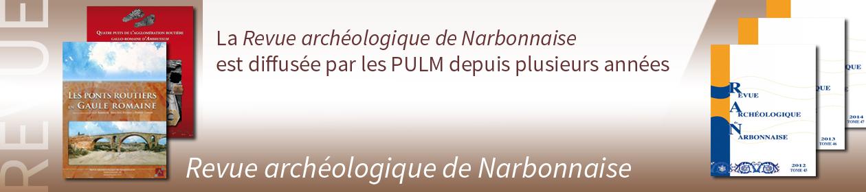 Revue archéologique de Narbonnaise